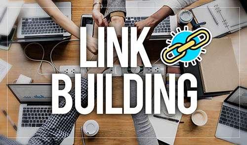 immagine di computer per link building